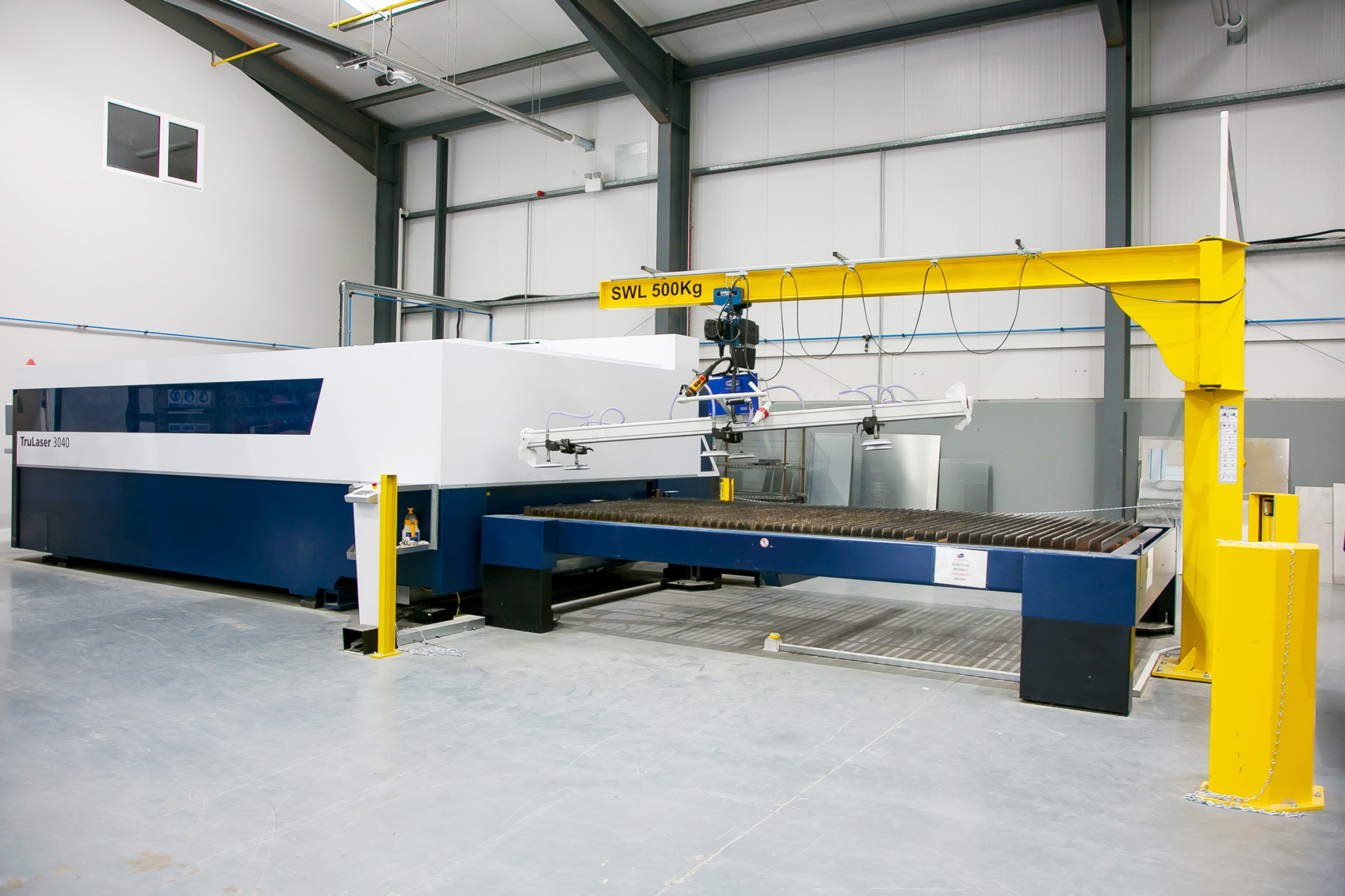 Stainless steel CNC Laser cutting punching bending profile cutting thickness of steel | Breffni Air Ltd - Specialist Ventilation