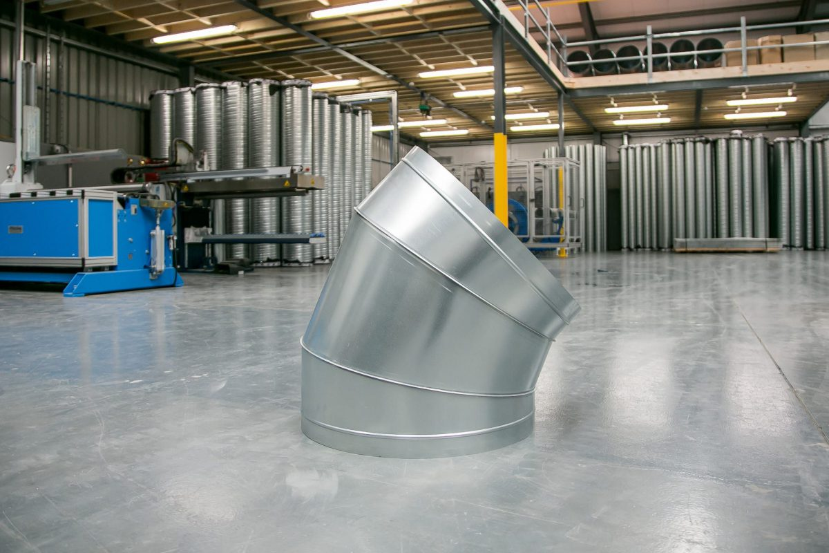 Steel Products Manufacturing : Ductwork manufacturing breffni air ltd