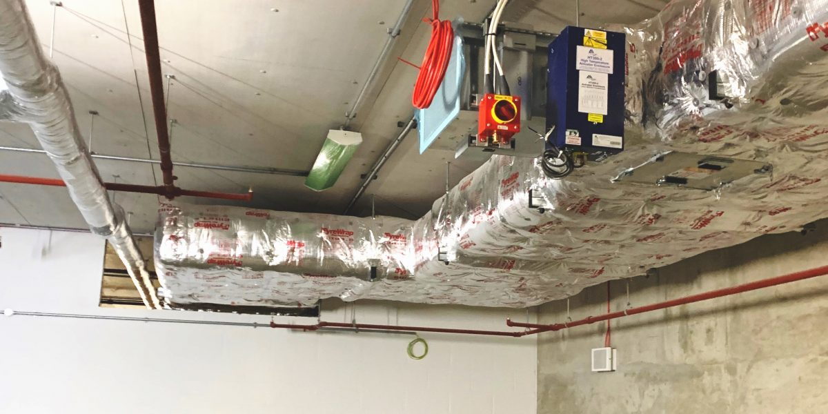 EN Fire Rated Duct for Commercial Development